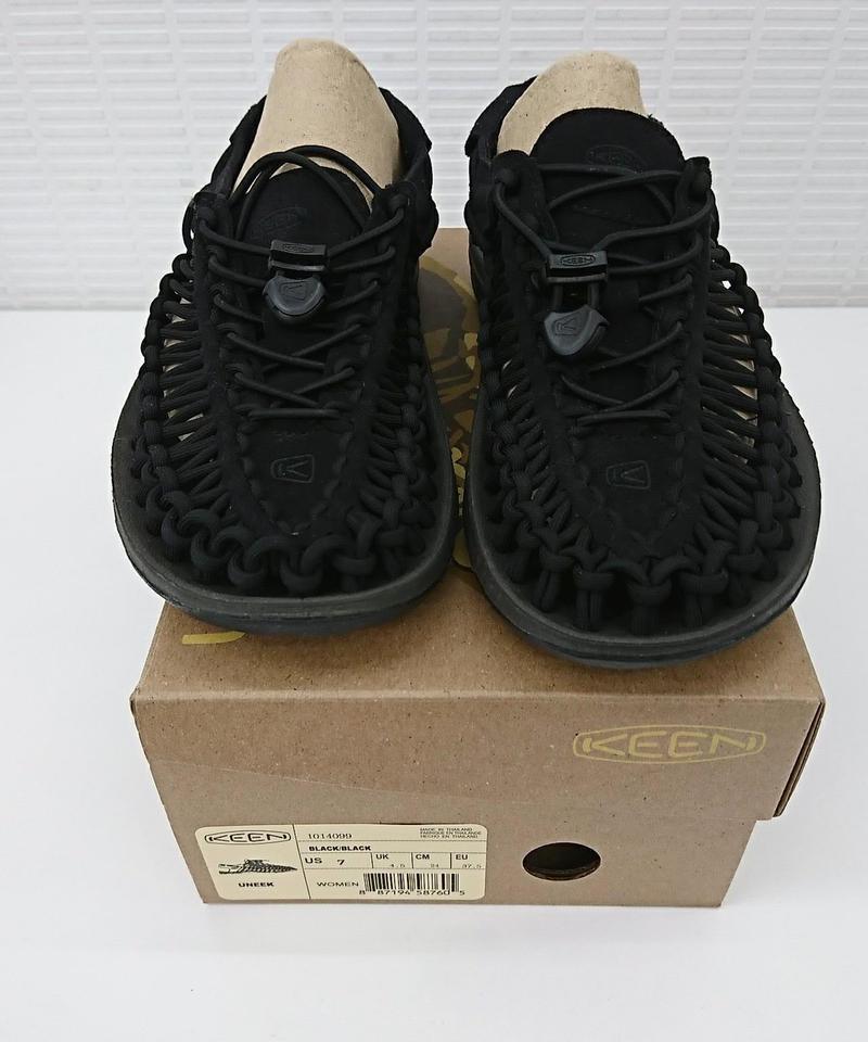【Ladies】KEEN UNEEK BLACK/BLACK 24cm(260)