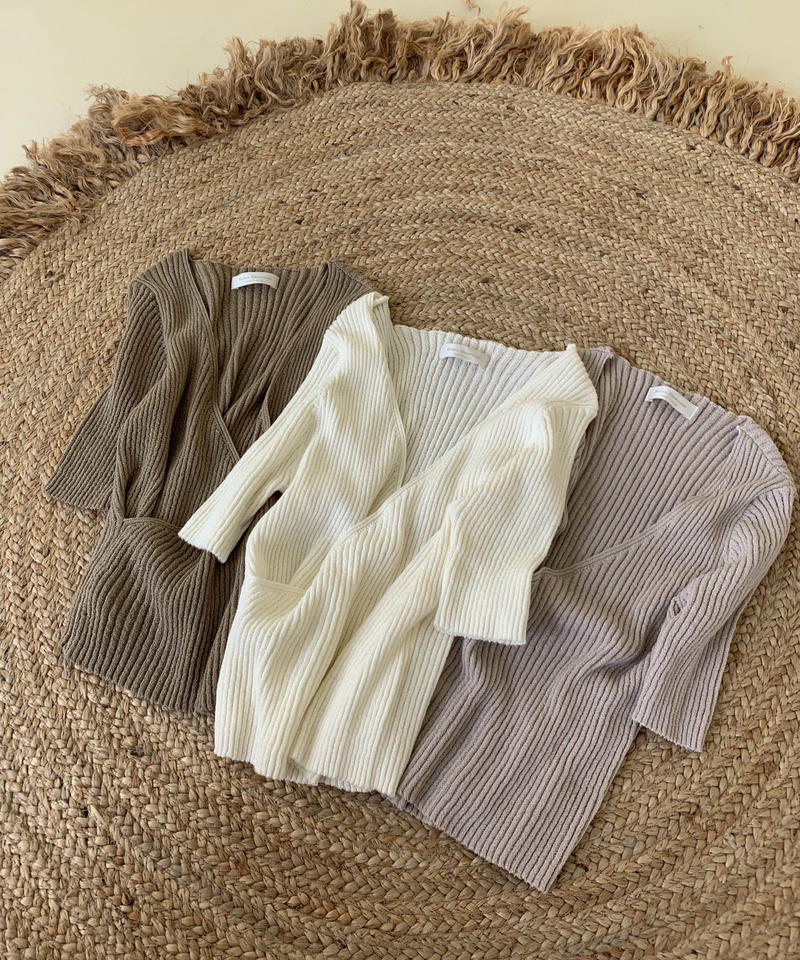 lap natural knit
