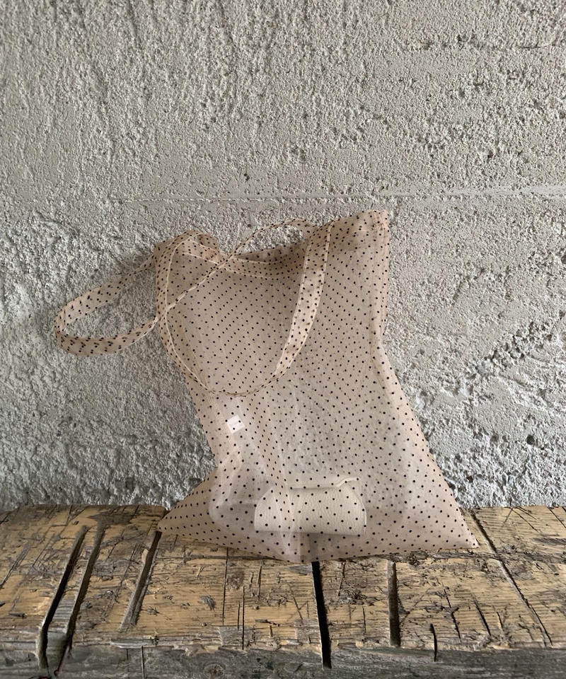 《 即納 》sheer dot eco bag