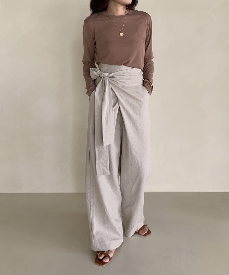 linen waist lap pt