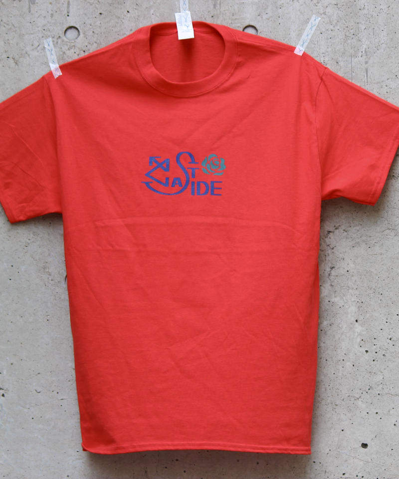 ROSE1 T-SHIRT RED