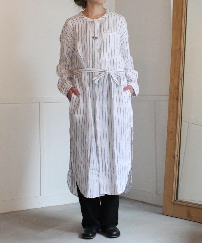 UT190SH005 ワッシャー ロングチュニックシャツ