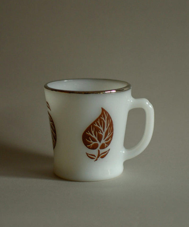 FIREKING / Brown leaf mug