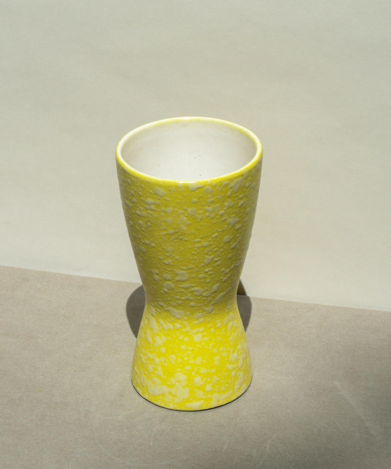 vintage marble flower vase