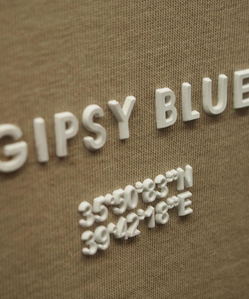"""シリコン""""GIPSY BLUE""""プリントノースリーブT"""