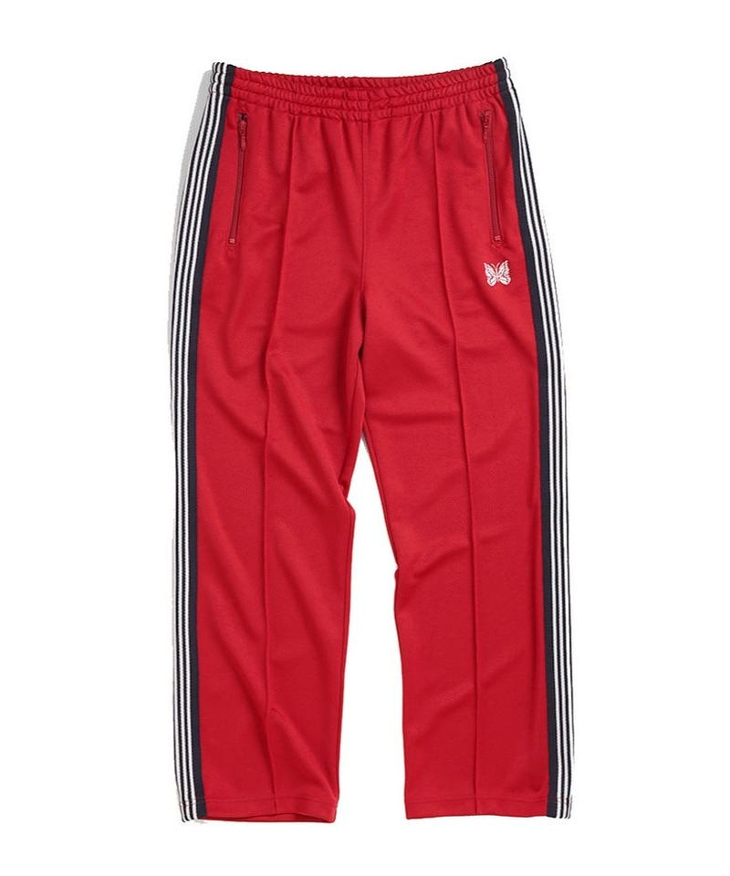 Needles TRACK PANT - POLY SMOOTH RED