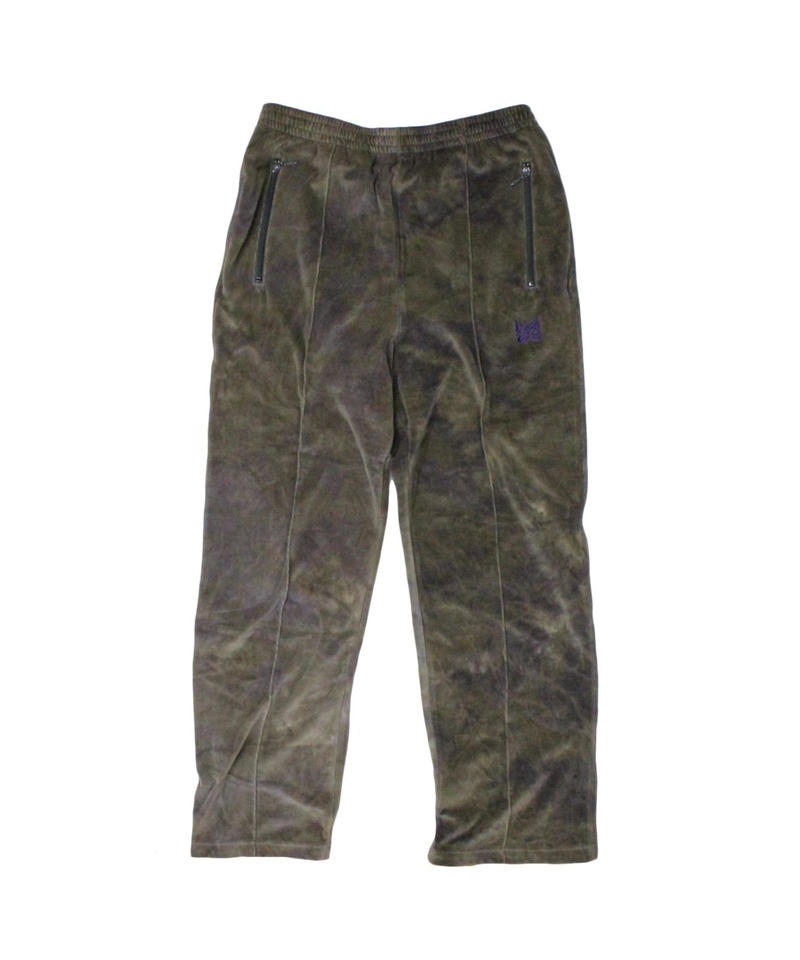 Needles TRACK PANT - C/Poly Velour  Uneven Dye