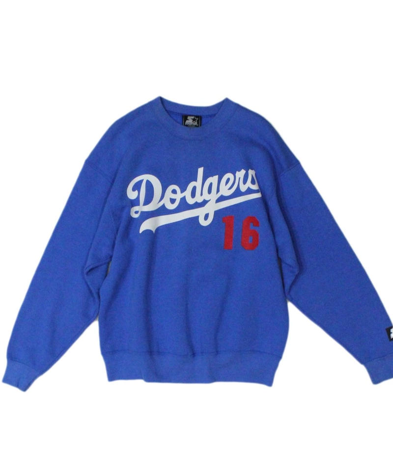Los Angeles Dodgers #16 HIDEO NOMO used long sleeve sweat - STARTER