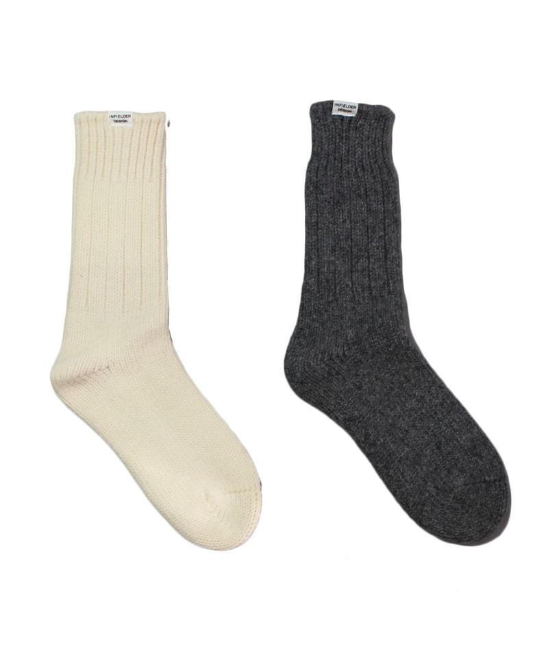 INFIELDER DESIGN Irish Wool Socks