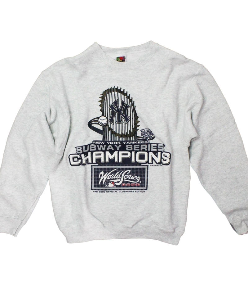 Newyork Yankees   vintage long sleeve sweat ① - size M