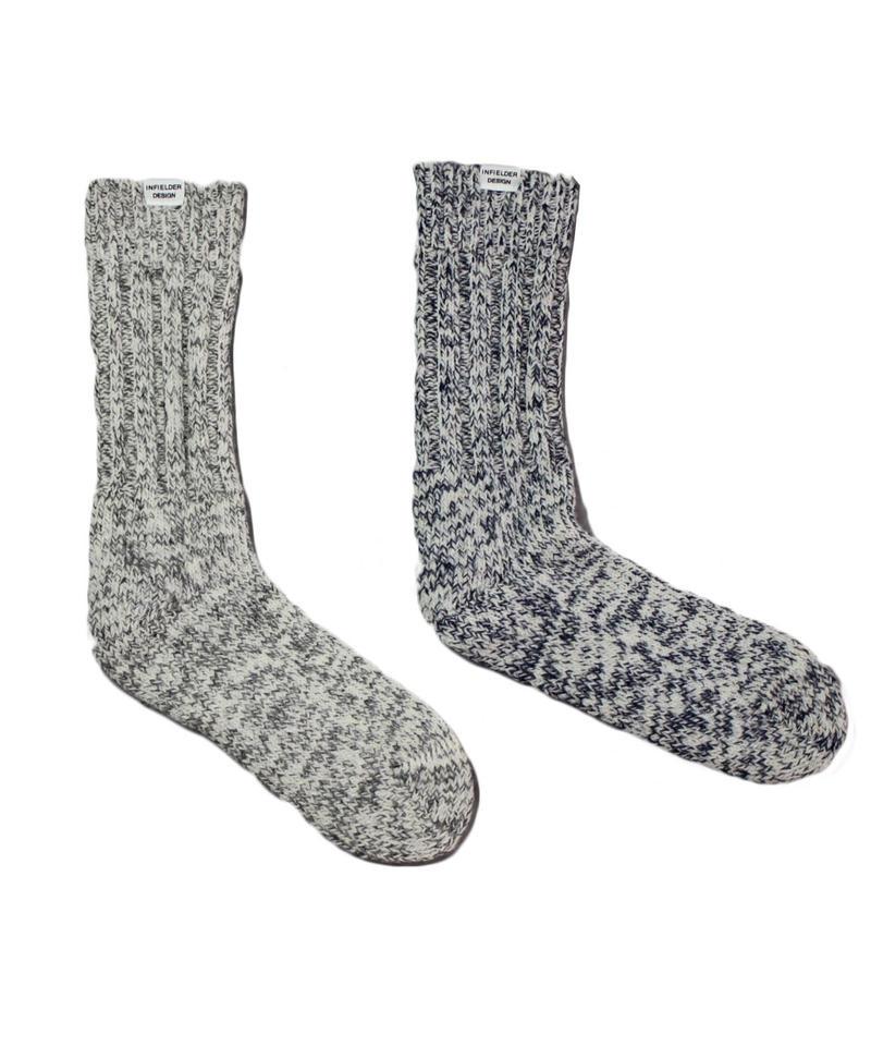 INFIELDER DESIGN Irish Wool  Mix Socks