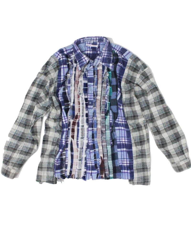 Rebuild by Needles Ribbon Flannel Shirt wide - onesize #5