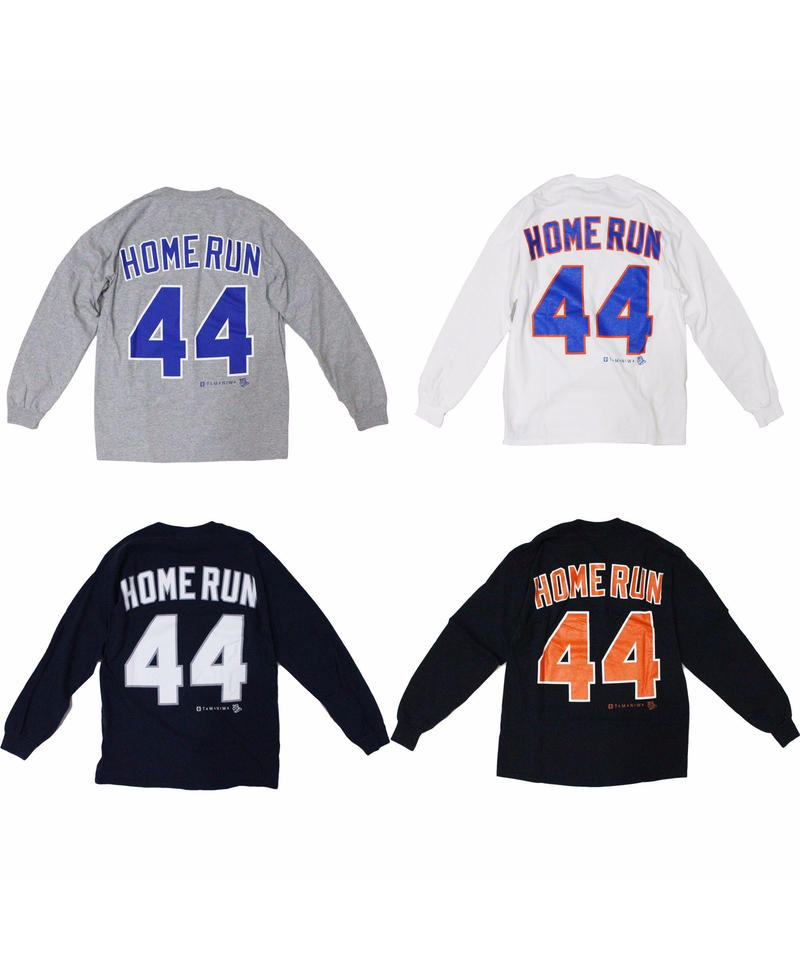 TAMANIWA:44 HOMERUN LONG SLEEVE TEE