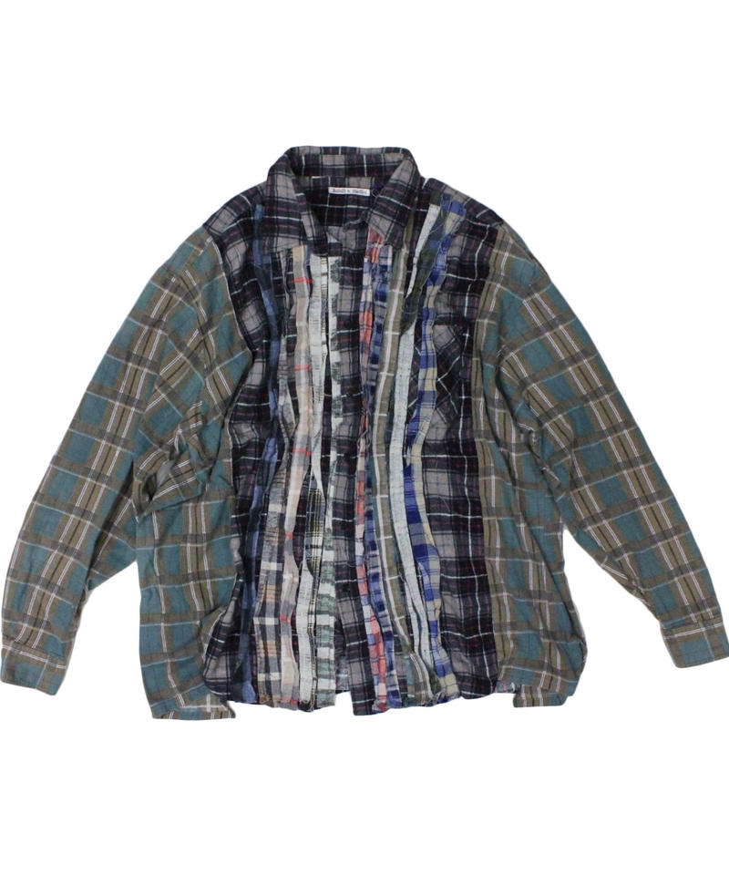 Rebuild by Needles Ribbon Flannel Shirt wide - onesize #10