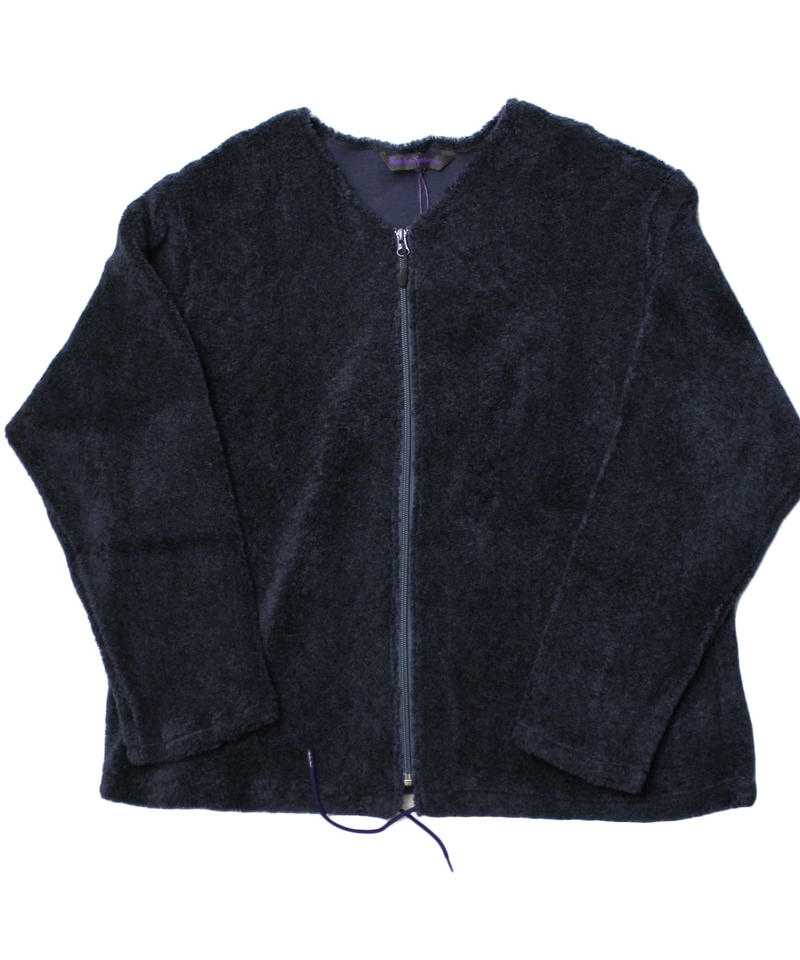 Needles Sports Wear - Zipped Crew Cardigan curl -size M