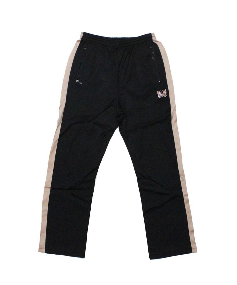 Needles Papillon Emb Side Line Track Pant - BLACK / Msize