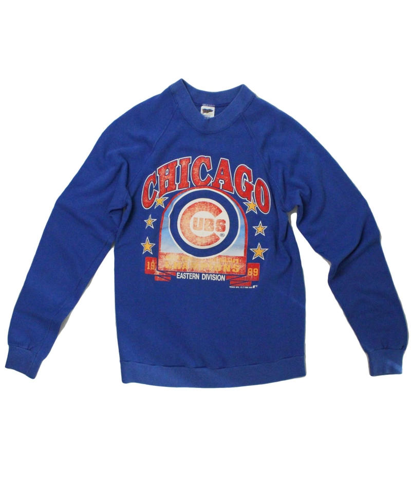 CHICAGO CUBS   vintage long sleeve sweat - size ASORT