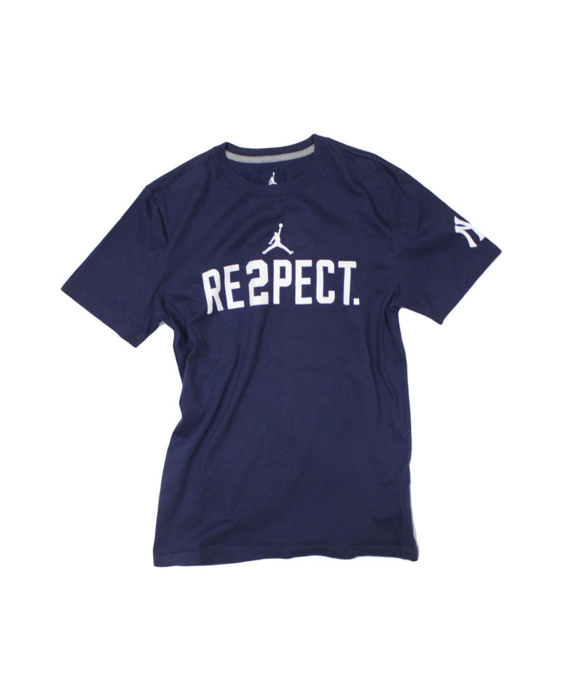 used:NIKE RE2PECT NewyorkYankees tee  - L size