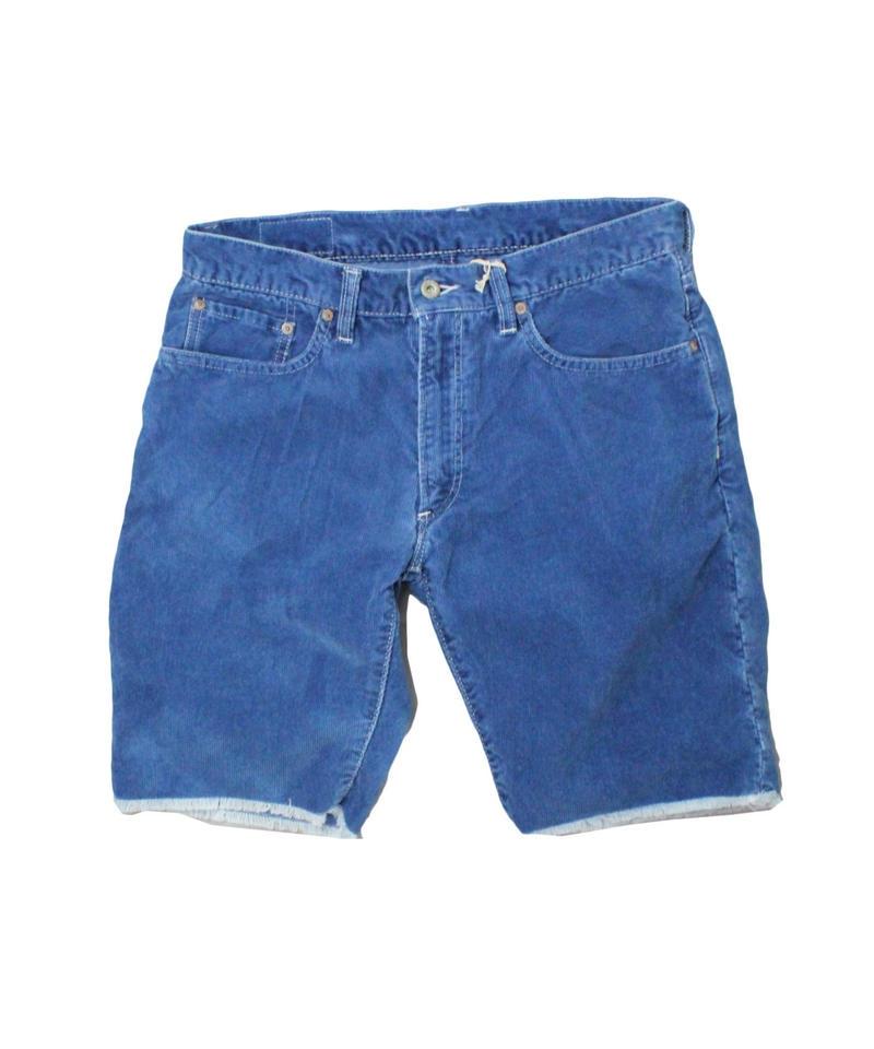 SANCA サンカ Corduroy Shorts Indigo