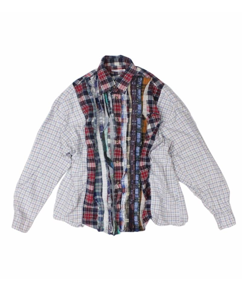 Rebuild by Needles Ribbon Flannel Shirt wide - onesize ⑦