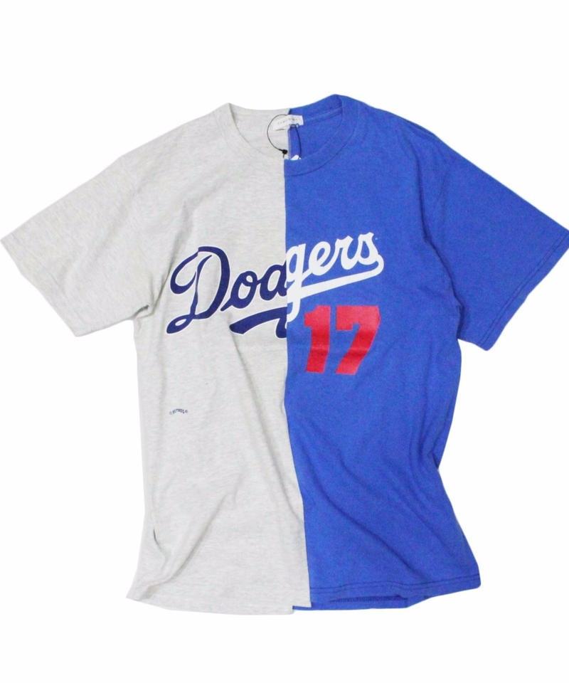 TAMANIWA - MLB half remake tee  #2
