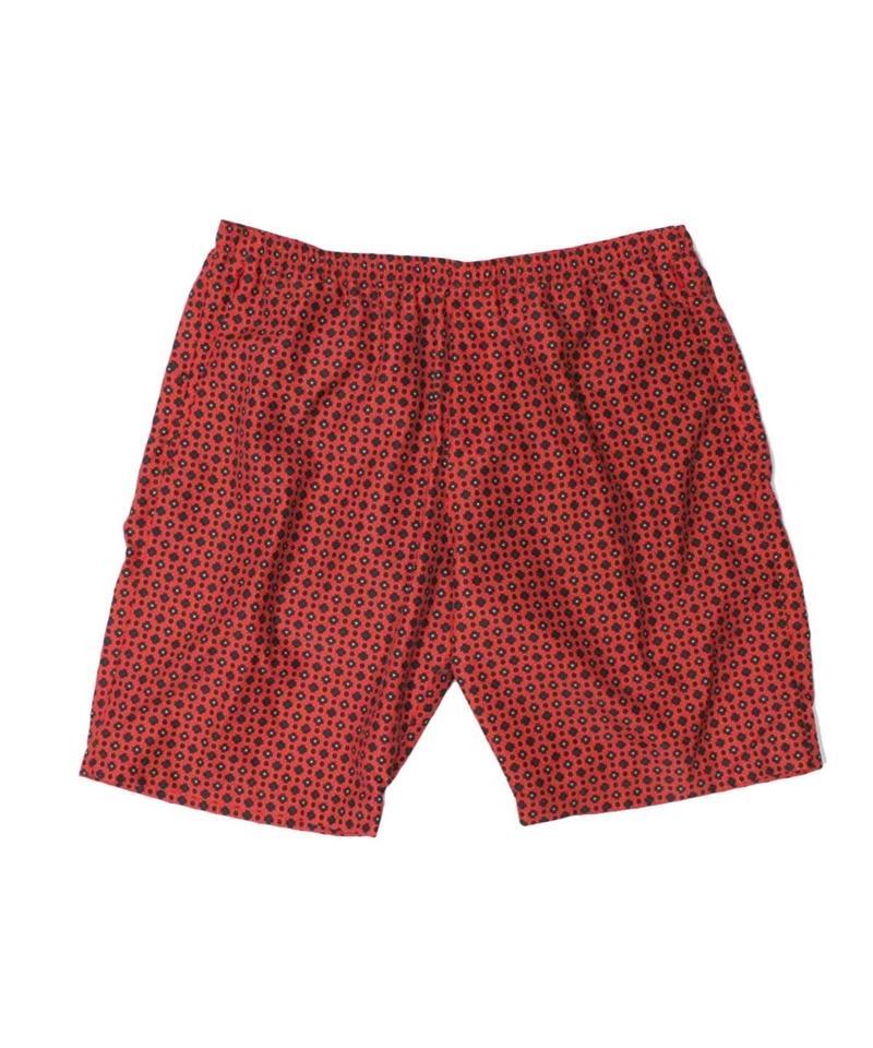 Needles - Swim Short  Nylon Tussore ( red - L size )