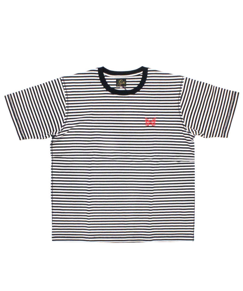 Needles S/S PAPILLON EMB.TEE - COTTON JERSEY