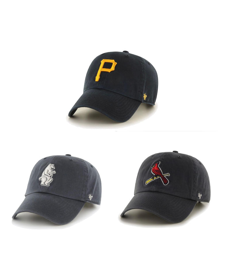 47brand CLEAN UP - TEAM LOGO CAP ④