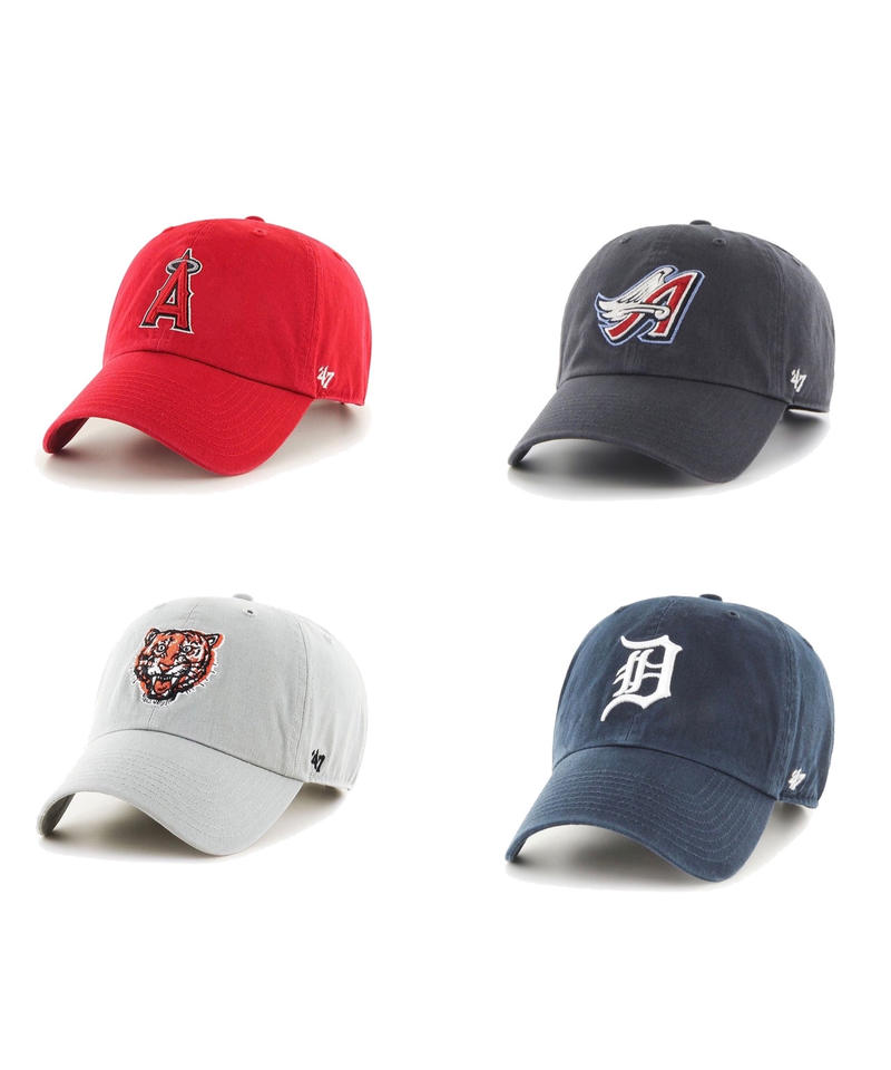 47brand CLEAN UP - TEAM LOGO CAP ①