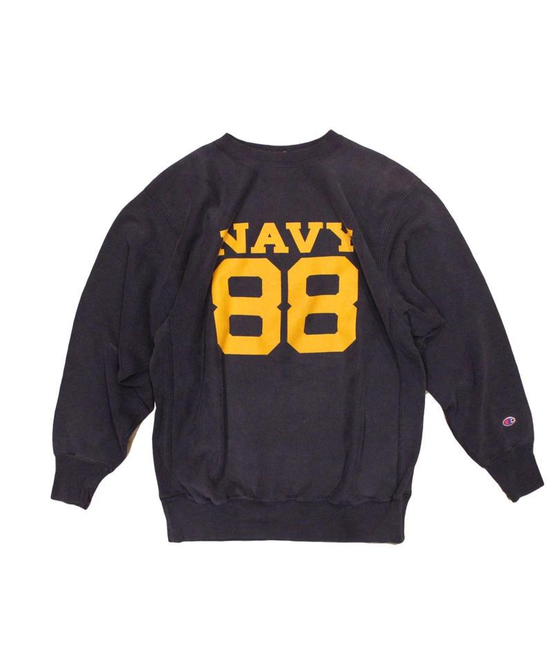 COPY CAT    OLD LONG SLEEVE SWAET  - Navy