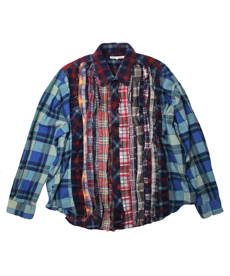 Rebuild by Needles Ribbon Flannel Shirt - onesize