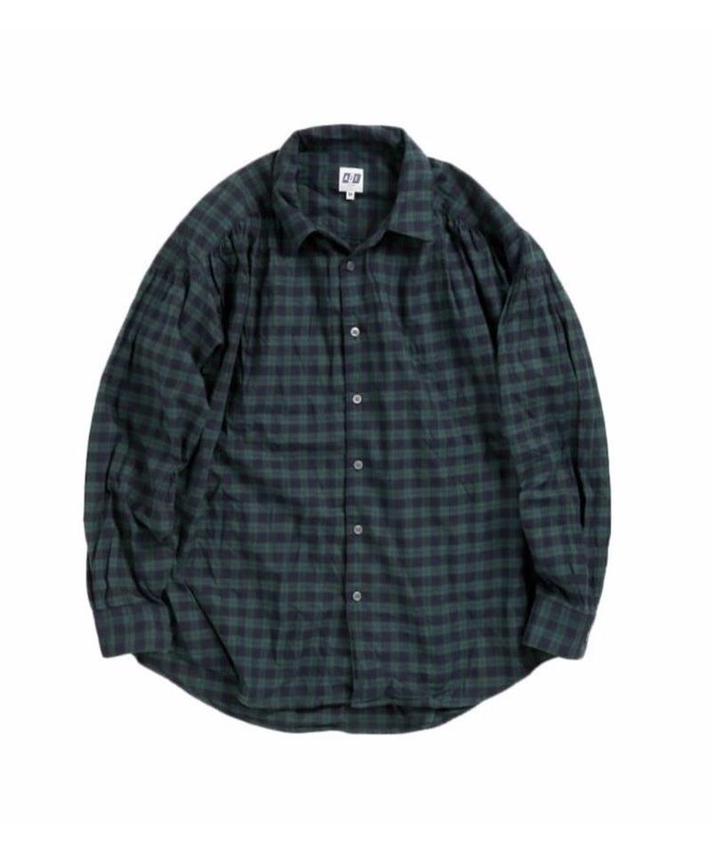 AiE - PAINTER SHIRT  COTTON TARTAN CHECK - M size
