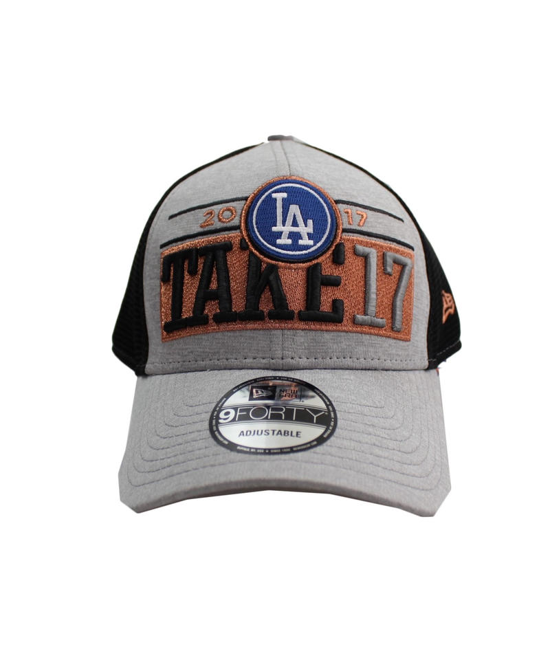 new era  9FORTY Los Angeles Dodgers  -17'POSTSEASON MESH CAP