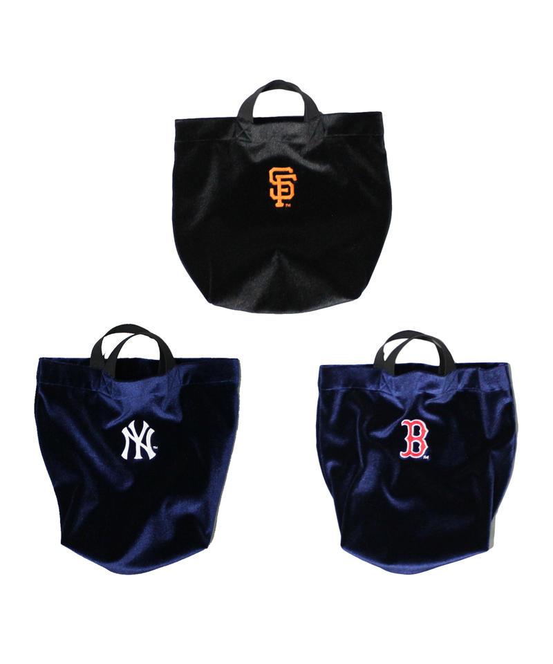 MLB × INFIELDER DESIGN:MLB VELVET YOI BAG