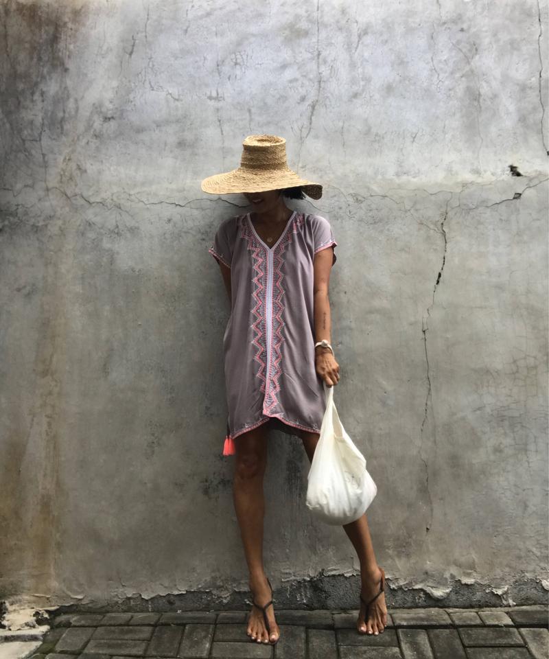 オリエンタル ミニワンピース oriental mini dress