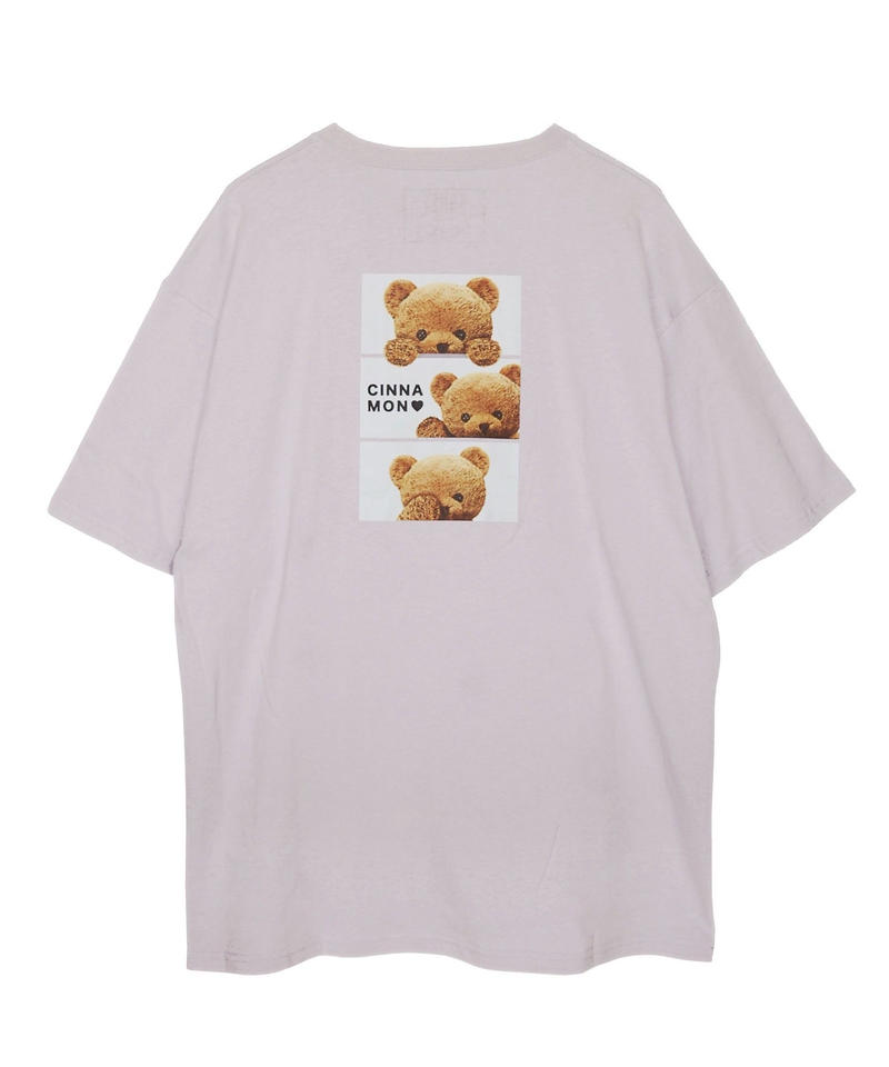 192CS0531<Unisex>BOX刺繍シナモンTシャツ