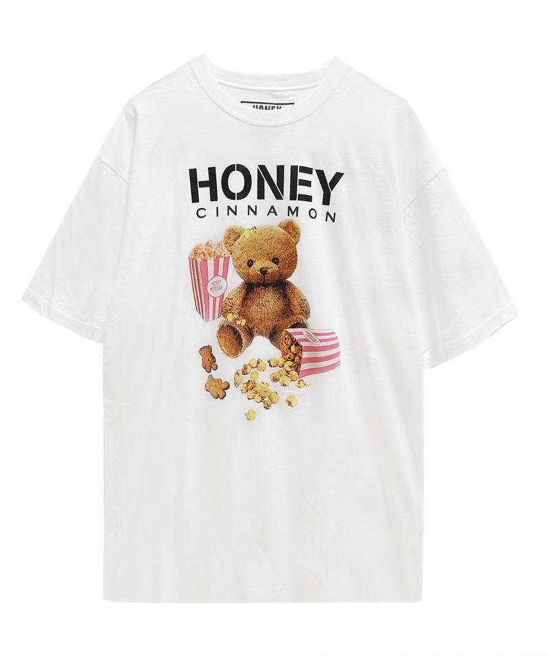 193CS0744 <Unisex>ポップコーンシナモンTシャツ