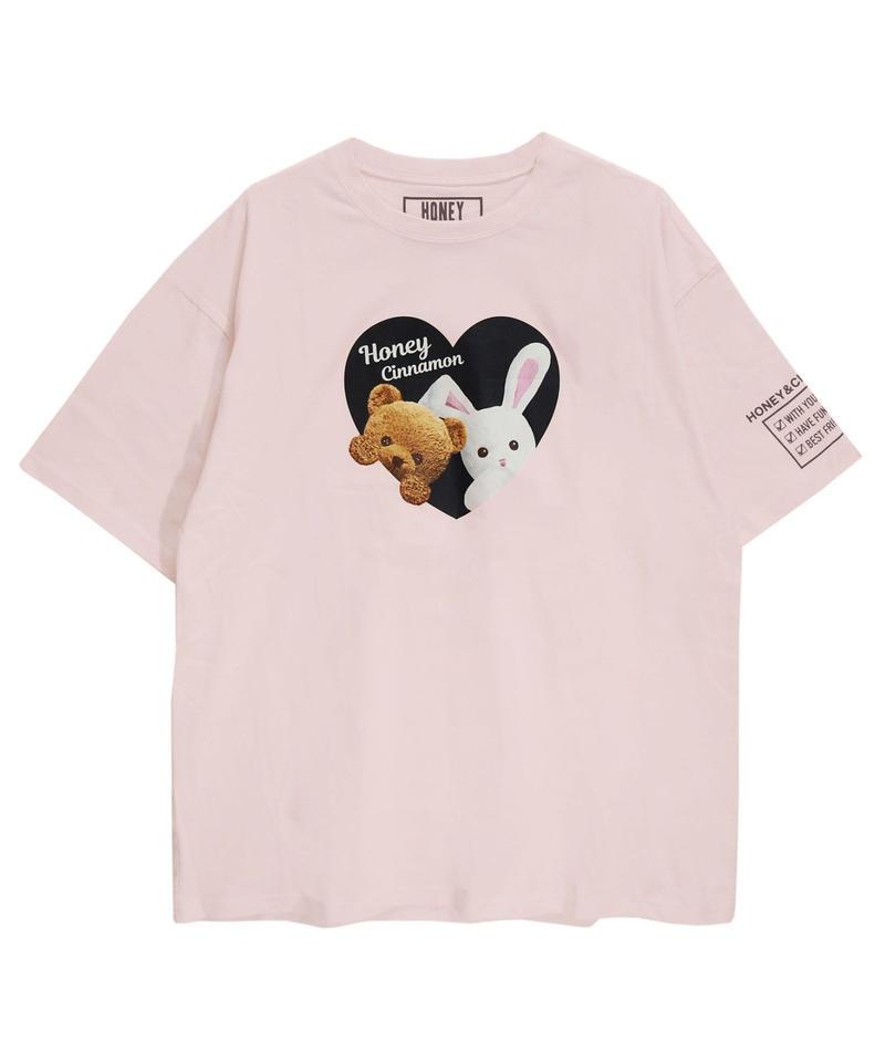 192CS0529 【再入荷】<Unisex>ハニー&シナモンTシャツ