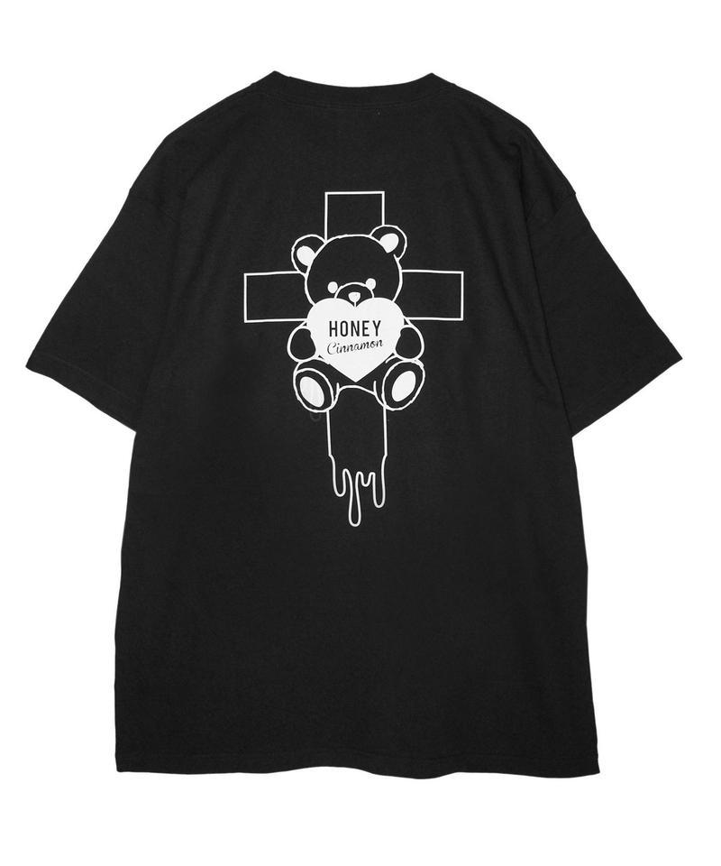 192CS0537【再入荷】<Unisex>十字架シナモンTシャツ