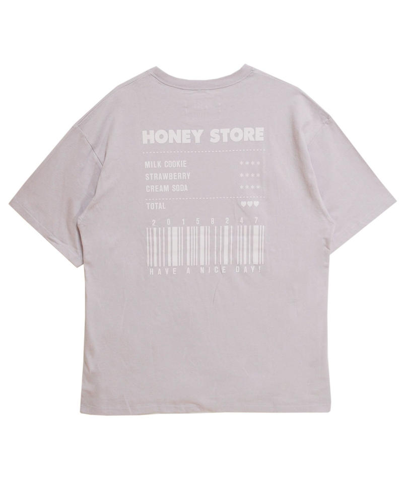 192CS0417<Unisex>HONEY STORE Tシャツ