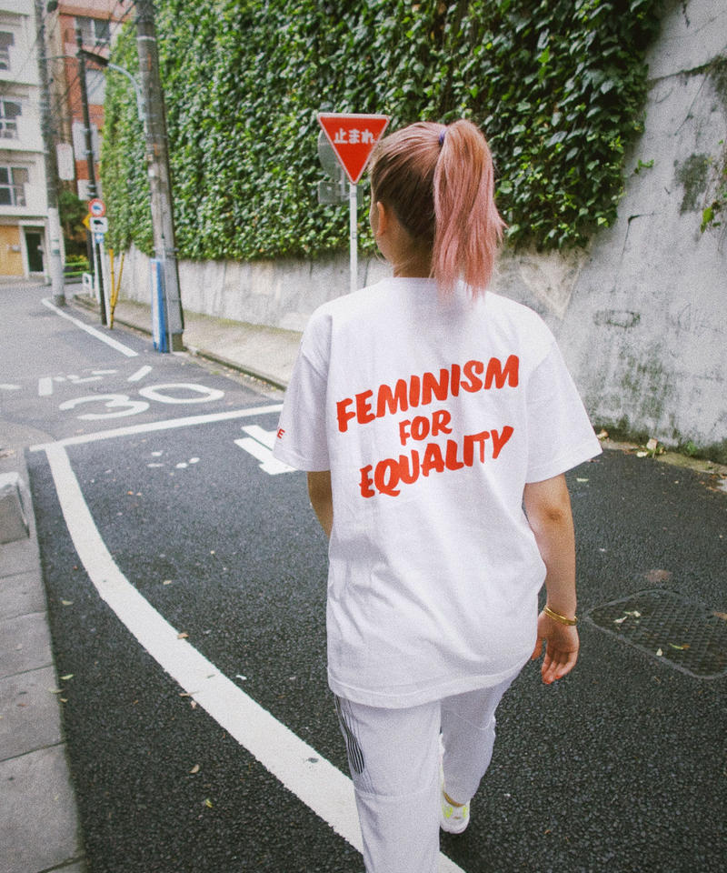 [feminism for equality] WHITE TEE