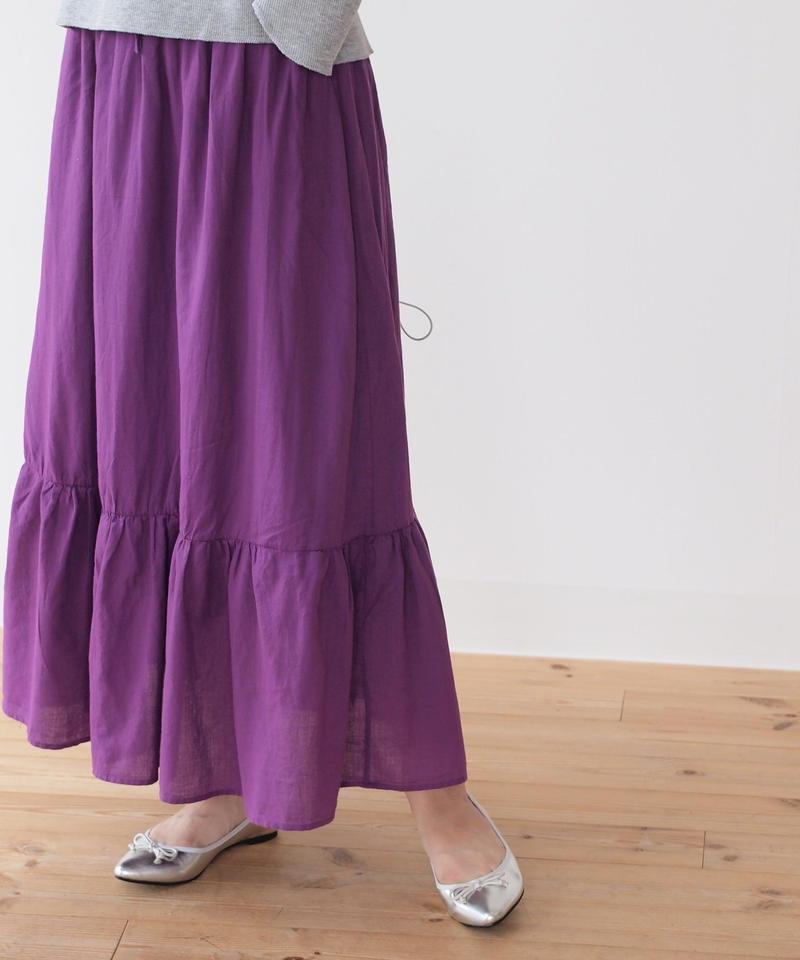 ティアード スカート