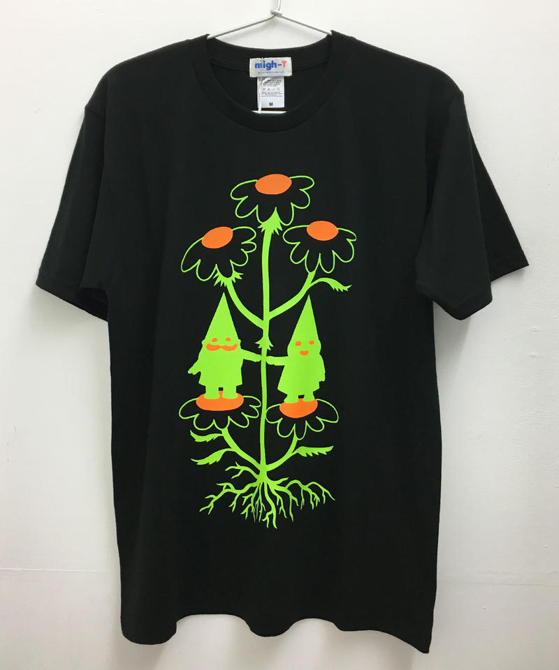 ノームカップルTシャツ (black)