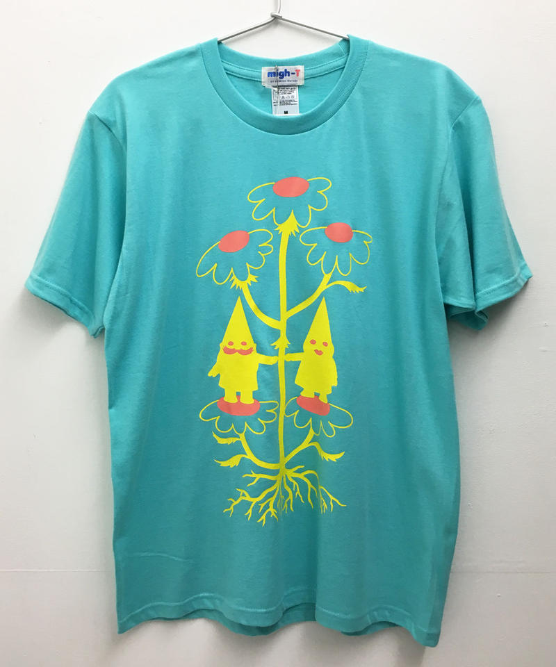 ノームカップルTシャツ (aqua)