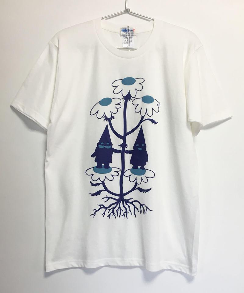 ノームカップルTシャツ (white)