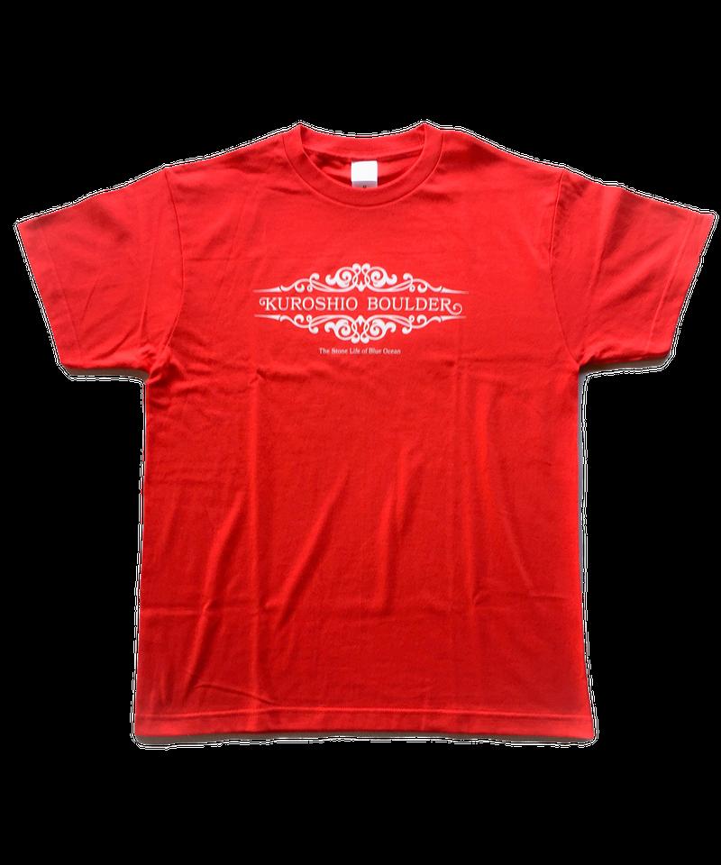 黒潮Tシャツ(イタリアンレッド)