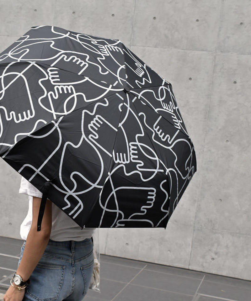 raingoods-02011 ハンドデザイン 折りたたみ傘 日傘 雨傘 晴雨兼用