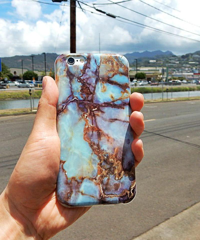 mb-iphone-02004 ターコイズ柄 天然石 iPhoneケース