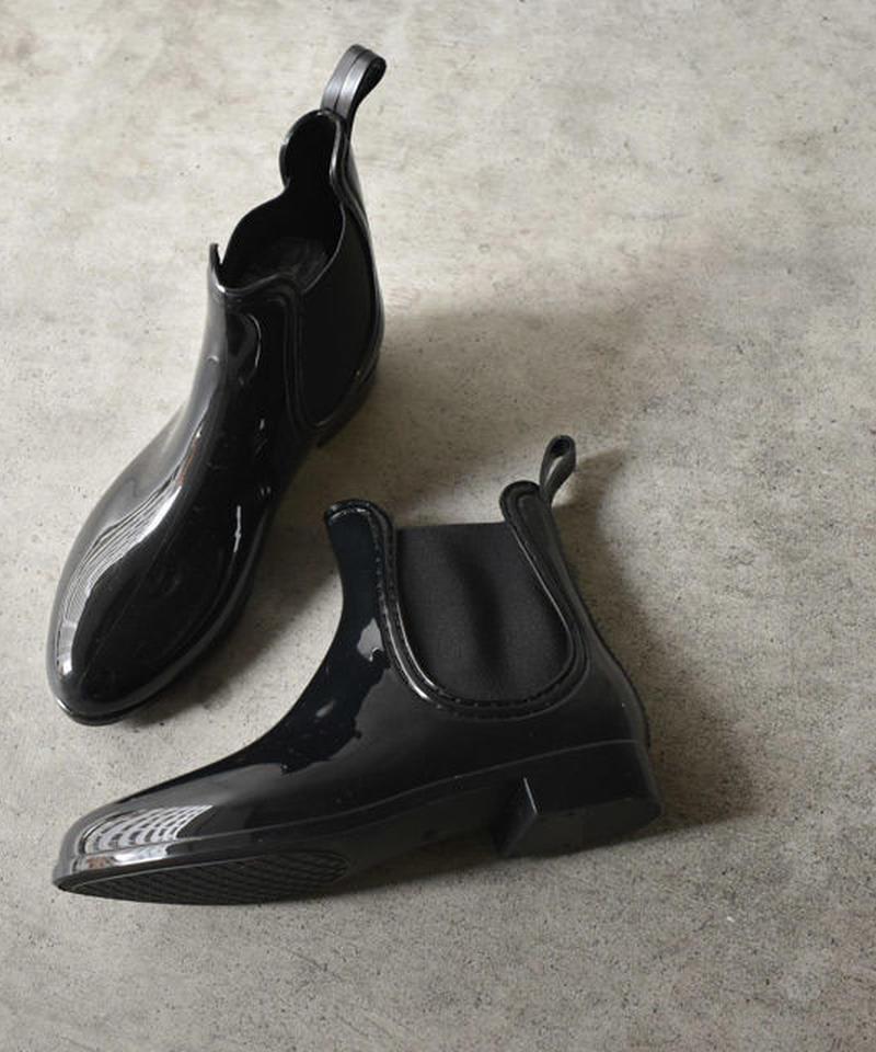 rainshoes-02002 サイドゴア レインブーツ レインシューズ ブラック