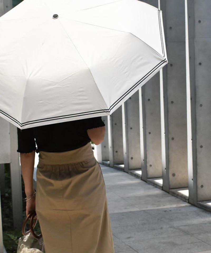 raingoods-02017 ダブルライン 折りたたみ傘 日傘 雨傘 晴雨兼用